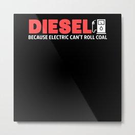 Diesel - Gift Metal Print