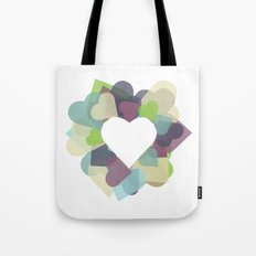 HEART HEART Tote Bag
