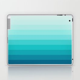 TURQUOISE GRADIENT Laptop & iPad Skin