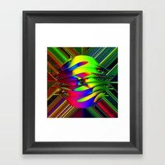 Einstein's Rainbow Framed Art Print
