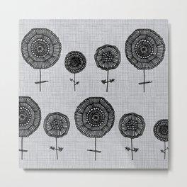 Linnea Garden Metal Print