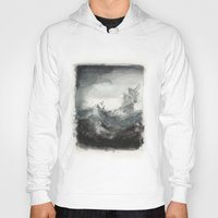 ship Hoodies featuring Ship by Inken Stabell