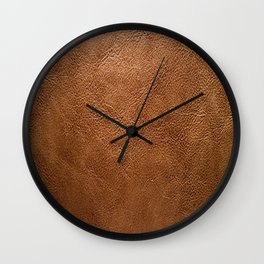 Animal Leather Hide Designers Texture Wall Clock