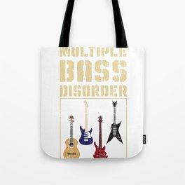Music Enthusiast Bass Guitar Tote Bag