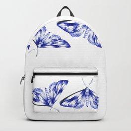 blue moths Backpack