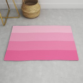 Four Shades of Pink Rug