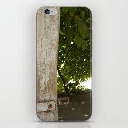 Silence iPhone Skin