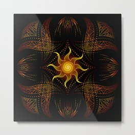 sun energy. part two Metal Print