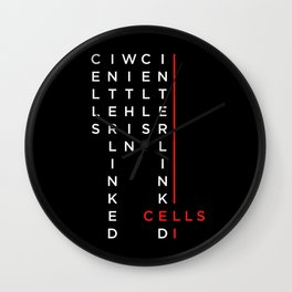 Cells / Interlinked Wall Clock