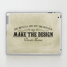 The Details are not the Details Laptop & iPad Skin