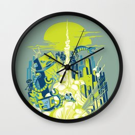 Smash! Zap!! Zooom!! - Annoying Kidd Wall Clock