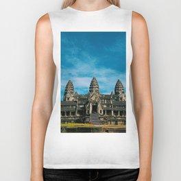 Angkor Wat Temple Cambodia Biker Tank