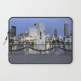 Cleve-Land-Scape Laptop Sleeve