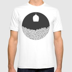 See in the Dark White MEDIUM Mens Fitted Tee