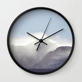 Mountain Top Wall Clock