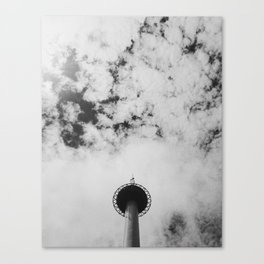Kyoto Tower. Canvas Print