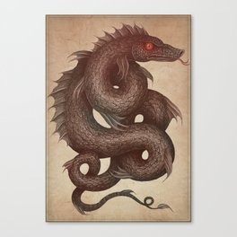 Gloucester Sea Serpent Canvas Print