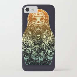 day of the dead matryoshka iPhone Case