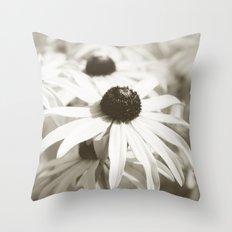 Fading Summer Throw Pillow