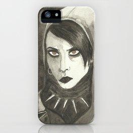 I am also an alien iPhone Case