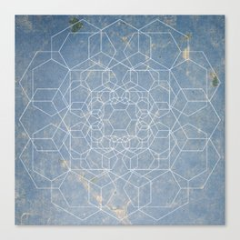 Gone are the Hexagons Canvas Print