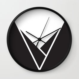 Mountainous Wall Clock