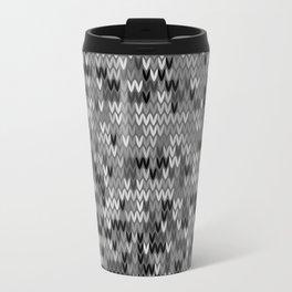 Heathered knit textile 4 Travel Mug