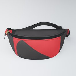 Red mood - Fanny Pack
