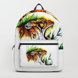 Tiger In The Wild Backpack