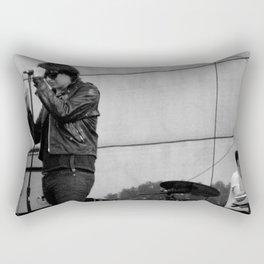Julian Casablancas - The Strokes at Bonnaroo 2011 Rectangular Pillow