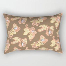 Fish Biz Rectangular Pillow