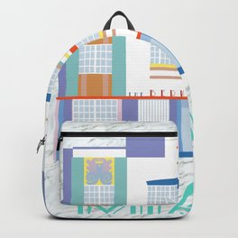 Miami Landmarks - The Berkeley Shore Backpack