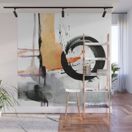 Enso Abstraction No.106J by Kathy Morton Stanion Wall Mural