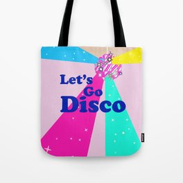 Let's Go Disco Tote Bag