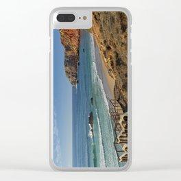 Praia do Amado, Portugal Clear iPhone Case