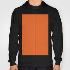Deep carrot orange Hoody