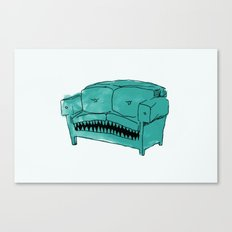 Hungry Couch Canvas Print