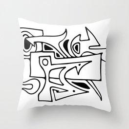 Graffiti 1 Throw Pillow