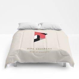 Pine Grosbeak Comforters