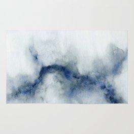 Indigo Abstract Painting | No.3 Rug