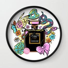 Poison of Choice: Chloroform Perfume Wall Clock