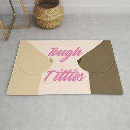 Tough Titties - Nipple Version Rug