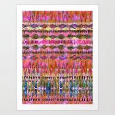 Ikat #8i Art Print