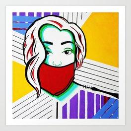 Silenced Girls (part 2/3) Art Print