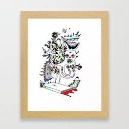 No Zoo Framed Art Print