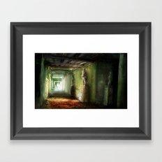 Corridor Framed Art Print