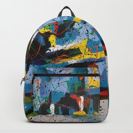 Abstract Landscape by azam Backpack