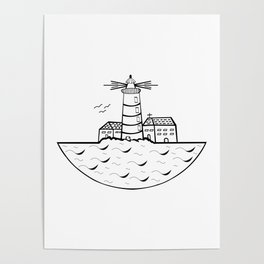 Summer and Sea Poster