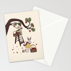 Autumn Apple Picking Stationery Cards