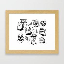 Ghosties Framed Art Print